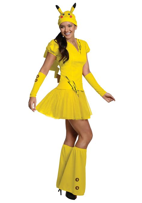halloween costumes womens pikachu costume