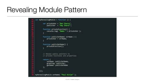 revealing module pattern javascript dan wahlin the modern java web developer javaone 2013