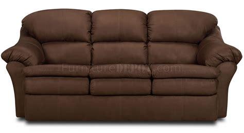 chocolate microfiber sofa chocolate microfiber modern sofa loveseat set w pillow arms