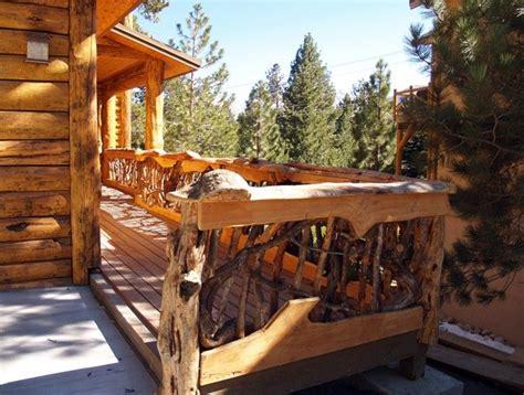 drawbridge style stairs lift up to secure treehouse retreat 09 log stairs stair rails deck rail wood railing jpg