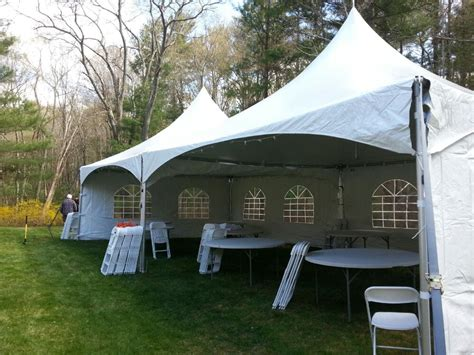 rent backyard backyard tent rental waltham party equipment rentals