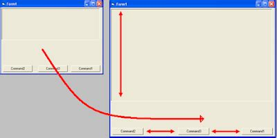 delphi object tutorial ukuran object otomatis mengikuti ukuran form maximize