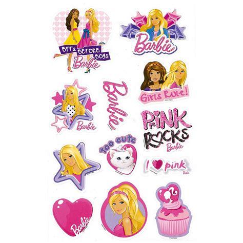 Printable Barbie Stickers | barbie sticker book barbie toys funstra