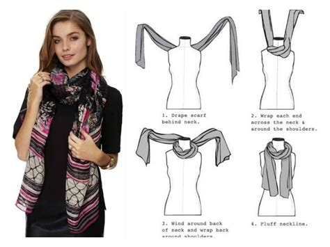 how to drape a scarf around your neck all about that scarf wonder wardrobes