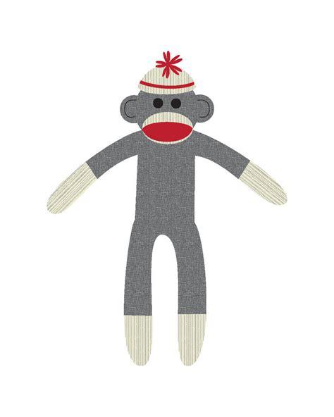 sock monkey on pinterest sock monkeys clip art and monkey