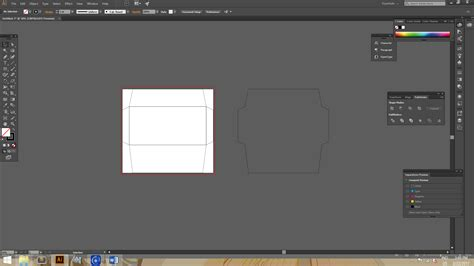 cara membuat outline di illustrator cara membuat amplop di illustrator kursus desain grafis