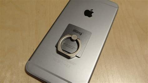 Iring Iphone もうスマホを落とさない iphoneにiringつけたら快適すぎる