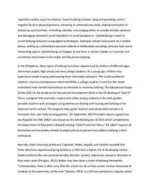 Cyber Bullying Essay by 5 Paragraph Essay On Bullying