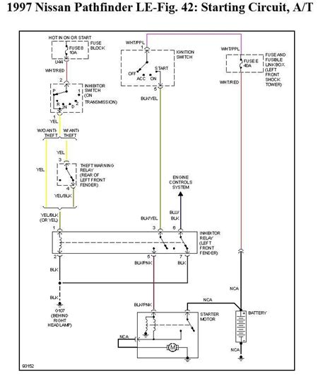 1997 nissan pathfinder wiring diagram wiring diagram
