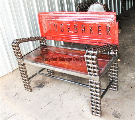 bench made from truck tailgate hand made truck tailgate garden bench garden benches outdoor furniture recycled