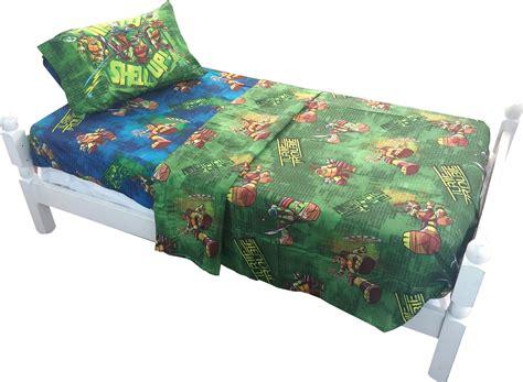 ninja turtle twin bed teenage mutant ninja turtles 3pc twin bed sheet set tmnt