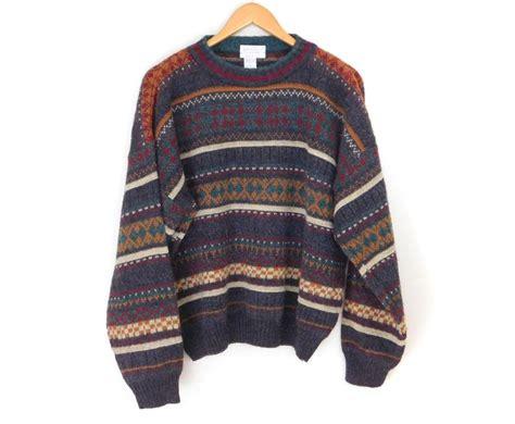 Sweater Vintage vintage sweaters mens