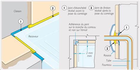 Mettre Du Silicone Autour De La Baignoire by Joint Entre Carrelage Et Receveur 13 Messages