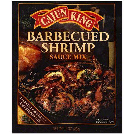 cajun king cajun king barbecued shrimp sauce mix 1 oz walmart