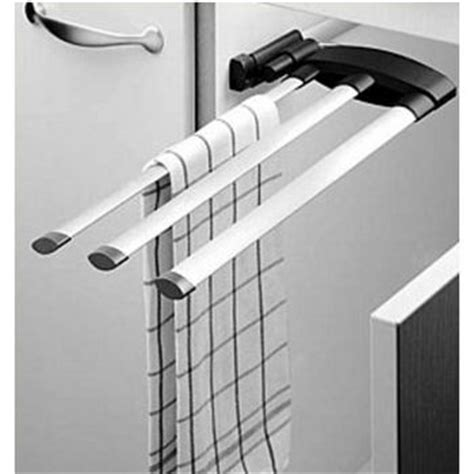 kitchen cabinet mounted towel bar towel organizers pull out and door mounted towel racks