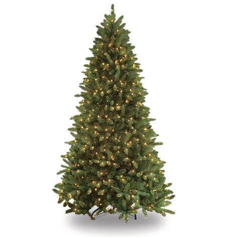 puleo 7 5 ft pre lit glacier fir artificial christmas
