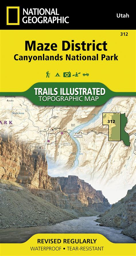 Pdf Canyonlands National Geographic Trails Illustrated by Canyonlands National Park