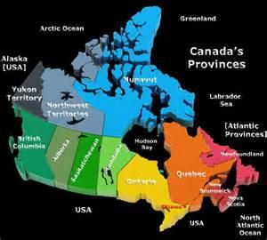 map of canada provinces bugbog