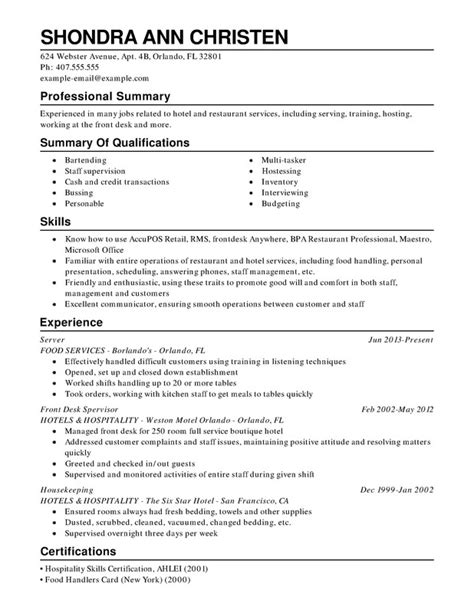 food service manager resume sle food service manager resume sle 28 images professional