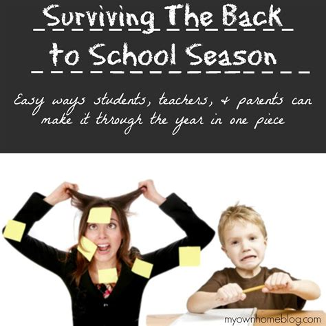 Surviving My Time In The 2 by Surviving Back To School With Living Essential Oils