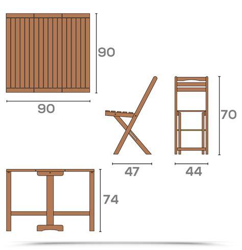sedie chiudibili set legno acacia salvaspazio chiudibile foldies set5
