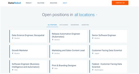 10 awesome career page exles greenhouse