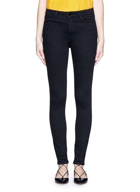 Highwaist Punny Black Size 27 30 lyst beckham powerhigh high waist