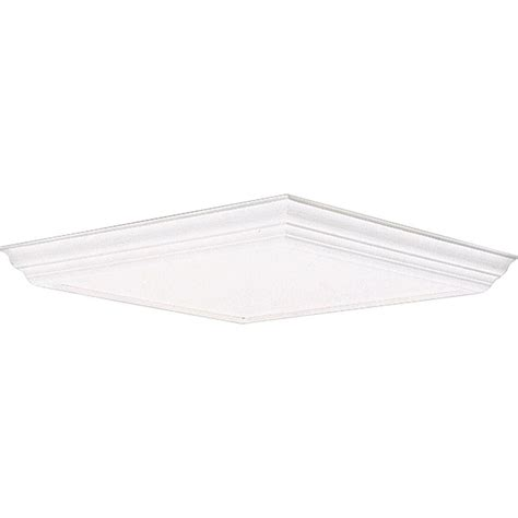 Replacement Diffuser For Light Fixture Progress Lighting White Fluorescent Fixture Diffuser P7273 30 The Home Depot