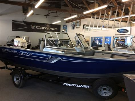 crestliner boats for sale edmonton 2017 crestliner 1700 vision edmonton boats for sale