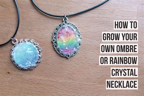 how to make jewelry from stones grow your own necklace tipit trusper