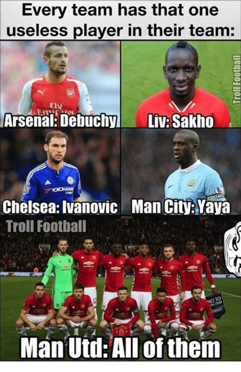 Troll Football Memes - funny arsenal memes of 2016 on sizzle chelsea