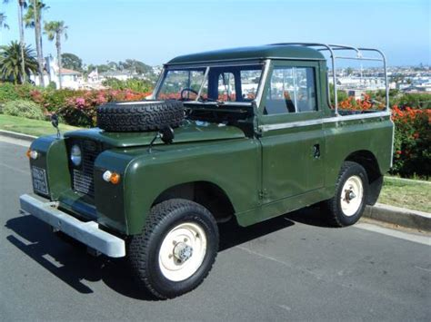 1965 land rover series iia for sale had better