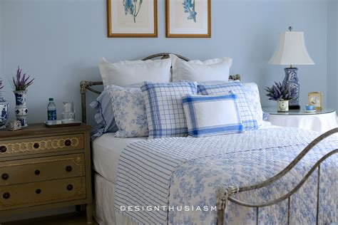 french blue bedrooms french blue guest room for a bon nuit