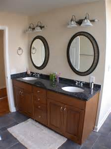 Sink Vanity With Two Mirrors Light Brown Wooden Vanity With Shelf Also White Sink