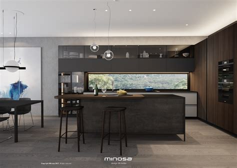 minosa something a different kitchen design