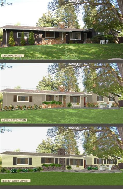exterior paint schemes for ranch homes home painting ideas