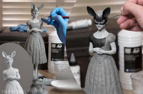 Painting 3d Printed by How To Paint Polyamide 3d Prints 3d Printing I