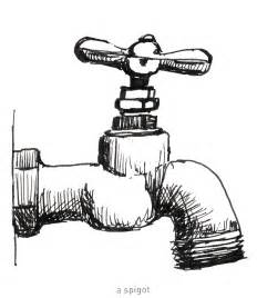 Water Faucet Drawing by S Strictly Sketchbook 642 Things To Draw 33 A Spigot