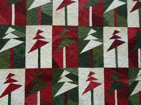 wonky christmas tree quilt pattern wonky christmas tree skirt quilts pinterest