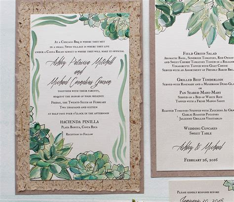 Handmade Wedding Invitation Designs - inspirations handmade wedding invitations momental