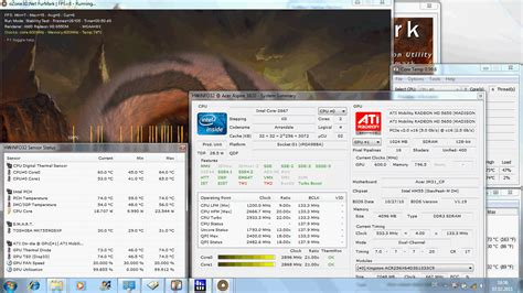 stress test gpu review acer aspire 3820tg subnotebook hd6550