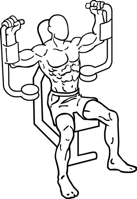 Bench Press Using Dumbbells by Butterfly Exercise Add This Chest Flys Variation To Your