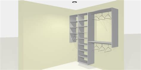 Walk In Closet Cost by Basic Closet Pricing Calgary Custom Closets