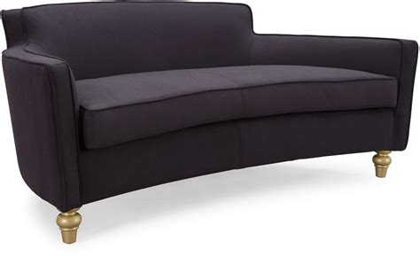 Oslo Black Herringbone Sofa L6109 Tov Furniture