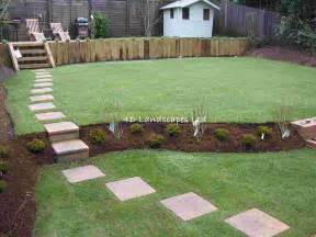 How To Level Your Backyard Landscape Http Www 4dlandscapes Co Uk Multi Level Lawn With