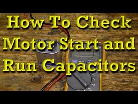 run capacitors explained start capacitors run capacitors for electric motors differences explained by temco