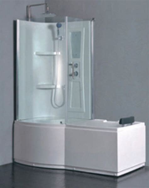 Bathroom Tub Shower Combo Whirlpool Tub Shower Combination Whirlpool Tub Shower Combo L90s45 W Left
