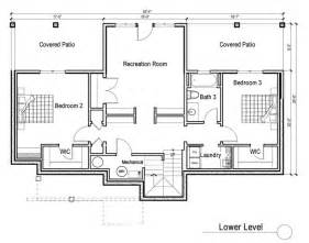 Walkout Rambler Floor Plans House Plans With Basement Image Of Walkout Basement House