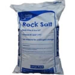 rock salt 40 bags 1 tonne 25kg bags