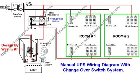 house wiring diagram for inverters luminous inverter